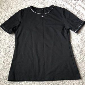 Chanel work uniform top shirt blouse size small
